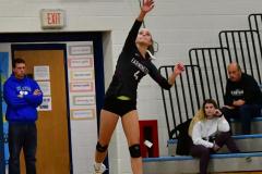 CIAC Girls Volleyball; Bristol Eastern vs. Farmington - Photo # 594
