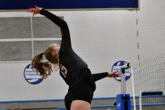 CIAC Girls Volleyball; Bristol Eastern vs. Farmington - Photo # 618