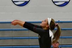 CIAC Girls Volleyball; Bristol Eastern vs. Farmington - Photo # 630