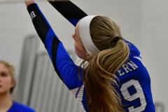 CIAC Girls Volleyball; Bristol Eastern vs. Farmington - Photo # 635