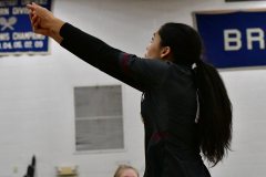 CIAC Girls Volleyball; Bristol Eastern vs. Farmington - Photo # 636