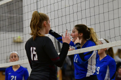 CIAC Girls Volleyball; Bristol Eastern vs. Farmington - Photo # 641