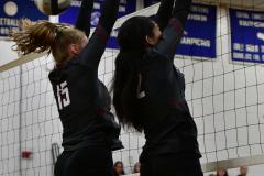 CIAC Girls Volleyball; Bristol Eastern vs. Farmington - Photo # 643