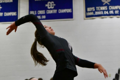 CIAC Girls Volleyball; Bristol Eastern vs. Farmington - Photo # 645