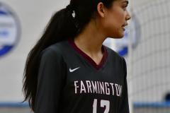 CIAC Girls Volleyball; Bristol Eastern vs. Farmington - Photo # 647