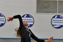 CIAC Girls Volleyball; Bristol Eastern vs. Farmington - Photo # 650