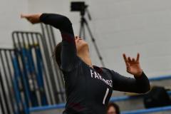 CIAC Girls Volleyball; Bristol Eastern vs. Farmington - Photo # 676