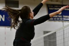 CIAC Girls Volleyball; Bristol Eastern vs. Farmington - Photo # 684