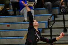 CIAC Girls Volleyball; Bristol Eastern vs. Farmington - Photo # 687