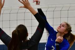 CIAC Girls Volleyball; Bristol Eastern vs. Farmington - Photo # 702