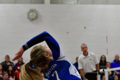 CIAC Girls Volleyball; Bristol Eastern vs. Farmington - Photo # 710