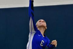 CIAC Girls Volleyball; Bristol Eastern vs. Farmington - Photo # 716