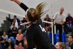 CIAC Girls Volleyball; Bristol Eastern vs. Farmington - Photo # 720