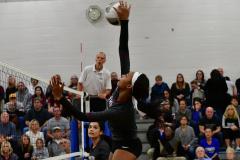 CIAC Girls Volleyball; Bristol Eastern vs. Farmington - Photo # 741