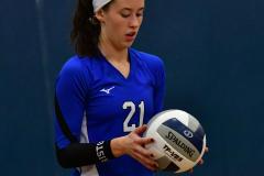 CIAC Girls Volleyball; Bristol Eastern vs. Farmington - Photo # 764