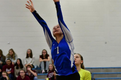 CIAC Girls Volleyball; Bristol Eastern vs. Farmington - Photo # 772