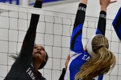 CIAC Girls Volleyball; Bristol Eastern vs. Farmington - Photo # 776