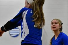 CIAC Girls Volleyball; Bristol Eastern vs. Farmington - Photo # 779