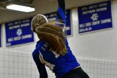 CIAC Girls Volleyball; Bristol Eastern vs. Farmington - Photo # 781