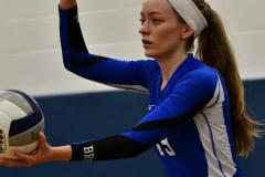 CIAC Girls Volleyball; Bristol Eastern vs. Farmington - Photo # 794
