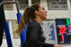 CIAC Girls Volleyball; Bristol Eastern vs. Farmington - Photo # 804