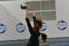 CIAC Girls Volleyball; Bristol Eastern vs. Farmington - Photo # 825