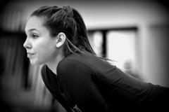 CIAC Girls Volleyball; Bristol Eastern vs. Farmington - Photo # 826