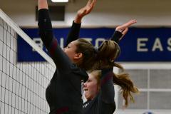 CIAC Girls Volleyball; Bristol Eastern vs. Farmington - Photo # 833