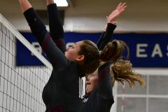 CIAC Girls Volleyball; Bristol Eastern vs. Farmington - Photo # 834