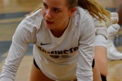 CIAC Girls Volleyball; Bristol Eastern vs. Farmington - Photo # 848