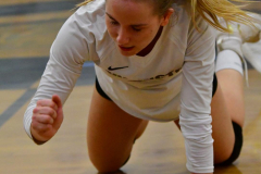 CIAC Girls Volleyball; Bristol Eastern vs. Farmington - Photo # 849