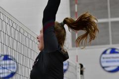 CIAC Girls Volleyball; Bristol Eastern vs. Farmington - Photo # 853