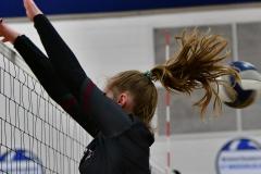 CIAC Girls Volleyball; Bristol Eastern vs. Farmington - Photo # 854