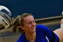 CIAC Girls Volleyball; Bristol Eastern vs. Farmington - Photo # 856