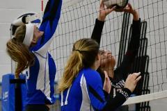 CIAC Girls Volleyball; Bristol Eastern vs. Farmington - Photo # 865