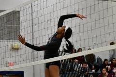 CIAC Girls Volleyball; Bristol Eastern vs. Farmington - Photo # 866