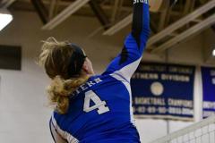 CIAC Girls Volleyball; Bristol Eastern vs. Farmington - Photo # 868