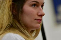 CIAC Girls Volleyball; Bristol Eastern vs. Farmington - Photo # 872