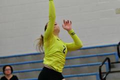 CIAC Girls Volleyball; Bristol Eastern vs. Farmington - Photo # 874
