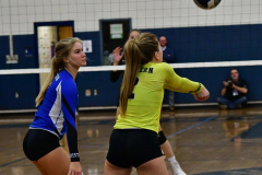 CIAC Girls Volleyball; Bristol Eastern vs. Farmington - Photo # 936