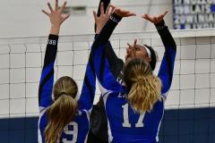 CIAC Girls Volleyball; Bristol Eastern vs. Farmington - Photo # 944