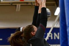 CIAC Girls Volleyball; Bristol Eastern vs. Farmington - Photo # 962