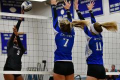 CIAC Girls Volleyball; Bristol Eastern vs. Farmington - Photo # 969