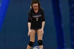 CIAC Girls Volleyball; Bristol Eastern vs. Farmington - Photo # 983