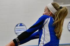 CIAC Girls Volleyball; Bristol Eastern vs. Farmington - Photo # 986
