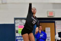 CIAC Girls Volleyball; Bristol Eastern vs. Farmington - Photo # 994