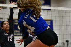 CIAC Girls Volleyball; Bristol Eastern vs. Farmington - Photo # 997