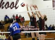 CIAC Girls Volleyball - CCCT Focused on Farmington vs. Bristol Eastern - Photo # (150)