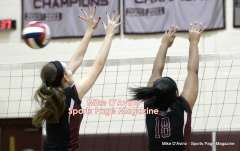 CIAC Girls Volleyball - CCCT Focused on Farmington vs. Bristol Eastern - Photo # (158)