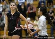 CIAC Girls Volleyball - CCCT Focused on Farmington vs. Bristol Eastern - Photo # (202)